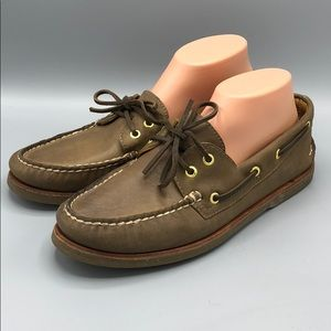 Sperry Gold Cup 0219477 Boat Deck Shoe 10 Brown